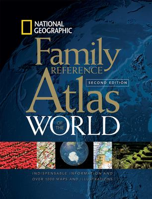 National Geographic family reference atlas of the world.