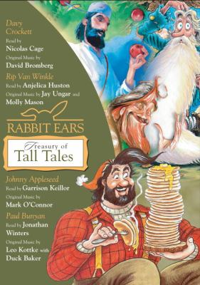 Rabbit Ears treasury of tall tales (AUDIOBOOK)