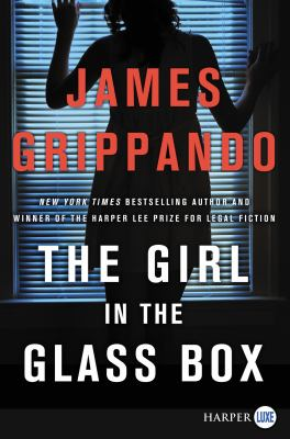 The girl in the glass box (LARGE PRINT)