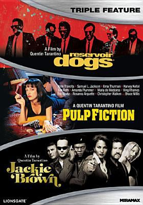 Quentin Tarantino triple feature : Reservoir Dogs ; Pulp Fiction ; Jackie Brown