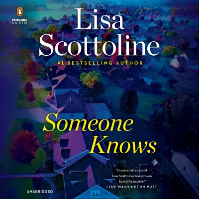 Someone knows (AUDIOBOOK)
