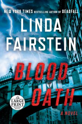 Blood oath (LARGE PRINT)