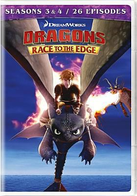 Dragons. Race to the edge. Seasons 3 & 4