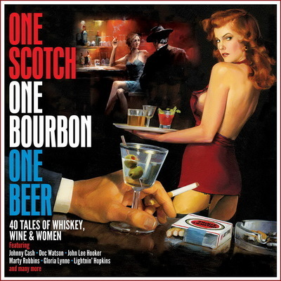 One scotch one bourbon one beer : 40 tales of whiskey, wine & women