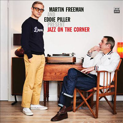 Martin Freeman and Eddie Piller present jazz on the corner.