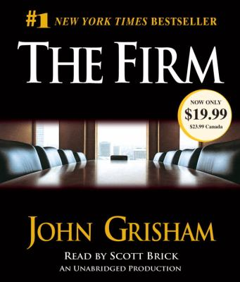 The firm : [a novel] (AUDIOBOOK)