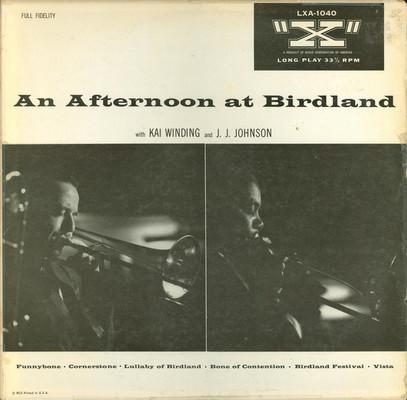 An Afternoon at Birdland. (VINYL)