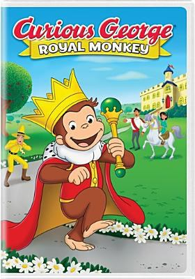Curious George. Royal monkey
