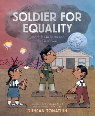 Soldier for equality : José de la Luz Saénz and the Great War