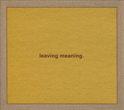 Leaving meaning