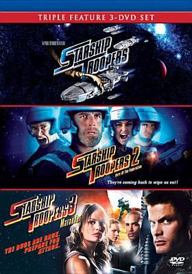 Starship troopers ; Starship troopers 2: hero of the federation ; Starship troopers 3: marauder.