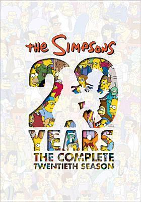 The Simpsons. The complete twentieth season