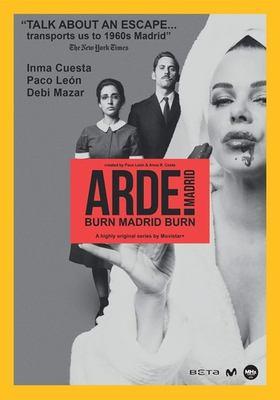 Burn Madrid burn = Arde Madrid.