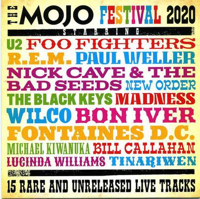 The Mojo festival 2020 : 15 rare and unreleased live tracks.