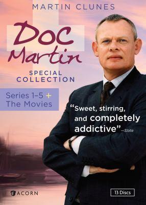 Doc Martin. Series 1-5 + the movies.