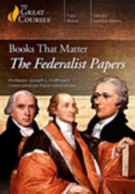 Books That Matter: The Federalist Papers (DVD)