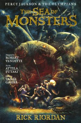 The sea of monsters : the graphic novel