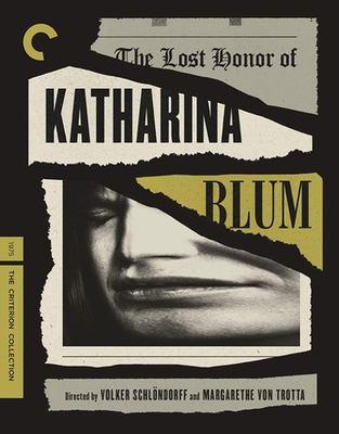The lost honor of Katharina Blum = Verlorene Ehre der Katharina Blum [Blu-ray]