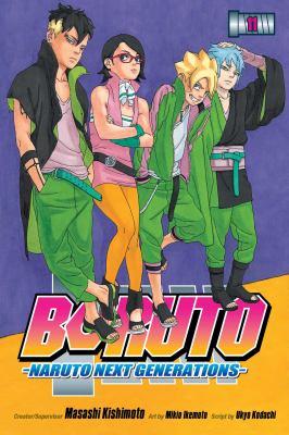 Boruto : Naruto next generations. Volume 11, The new team seven