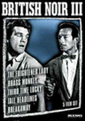 British noir III : 5 film set.