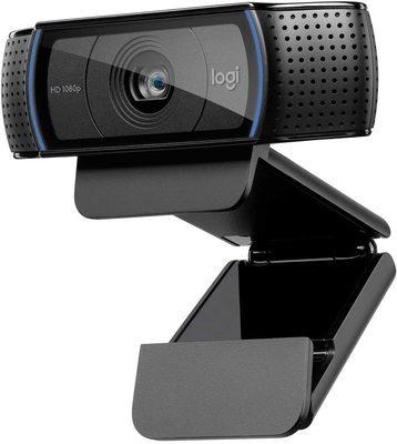 Webcam : Logitech c920 HD Pro webcam.