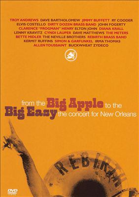 From the Big Apple to the Big Easy : NYC's concerts for the Gulf Coast