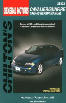 Chilton's General Motors Cavalier/Sunfire : 1995-00 repair manual