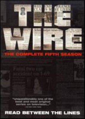 The wire. The complete fifth season