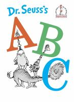 Dr. Seuss's ABC.