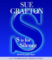 S is for silence (AUDIOBOOK)