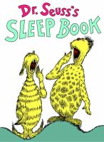 Dr. Seuss's sleep book.