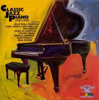 Classic jazz piano