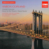 Concerto for clarinet and string orchestra ; Music for the theatre ; Quiet city ; Dance panels