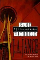 Name withheld : a J.P. Beaumont mystery