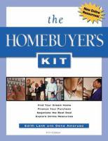 The homebuyer's kit