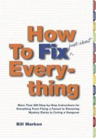 How to fix (just about) everything