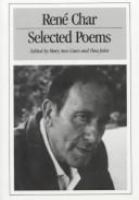Selected poems of Rene Char