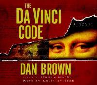 Da Vinci code (AUDIOBOOK)