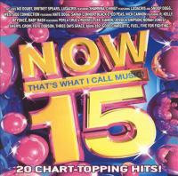 Now 15!: that's what I call music