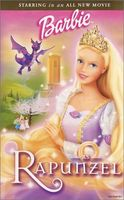 Rapunzel (starring Barbie)(DVD)