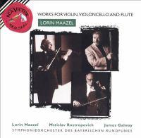 Music for cello, flute, violin & orchestra