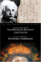Selections for the principle of relativity