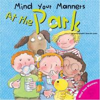Mind your manners at the park (Early Learner)