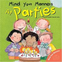 Mind your manners at parties (Early Learner)