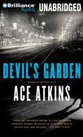 Devil's garden (AUDIOBOOK)