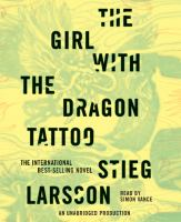 The girl with the dragon tattoo (AUDIOBOOK)