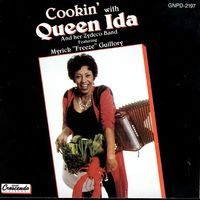 Cookin' with Queen Ida and her zydeco band