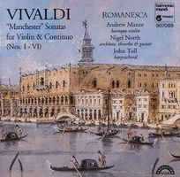 """Manchester"" sonatas : for violin & continuo (nos. I-VI)"