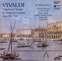 """Manchester"" sonatas : for violin & continuo (nos. VII-XII)"