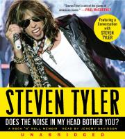 Does the noise in my head bother you? : [a rock 'n' roll memoir] (AUDIOBOOK)